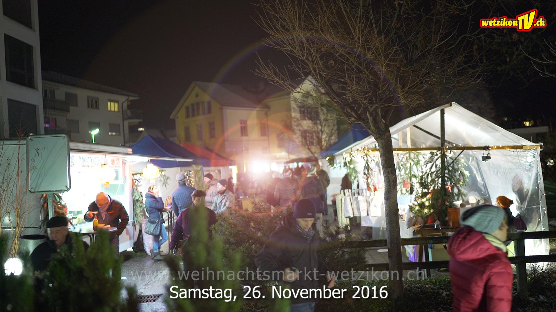 Ansage, Weihnachtsmarkt Wetzikon