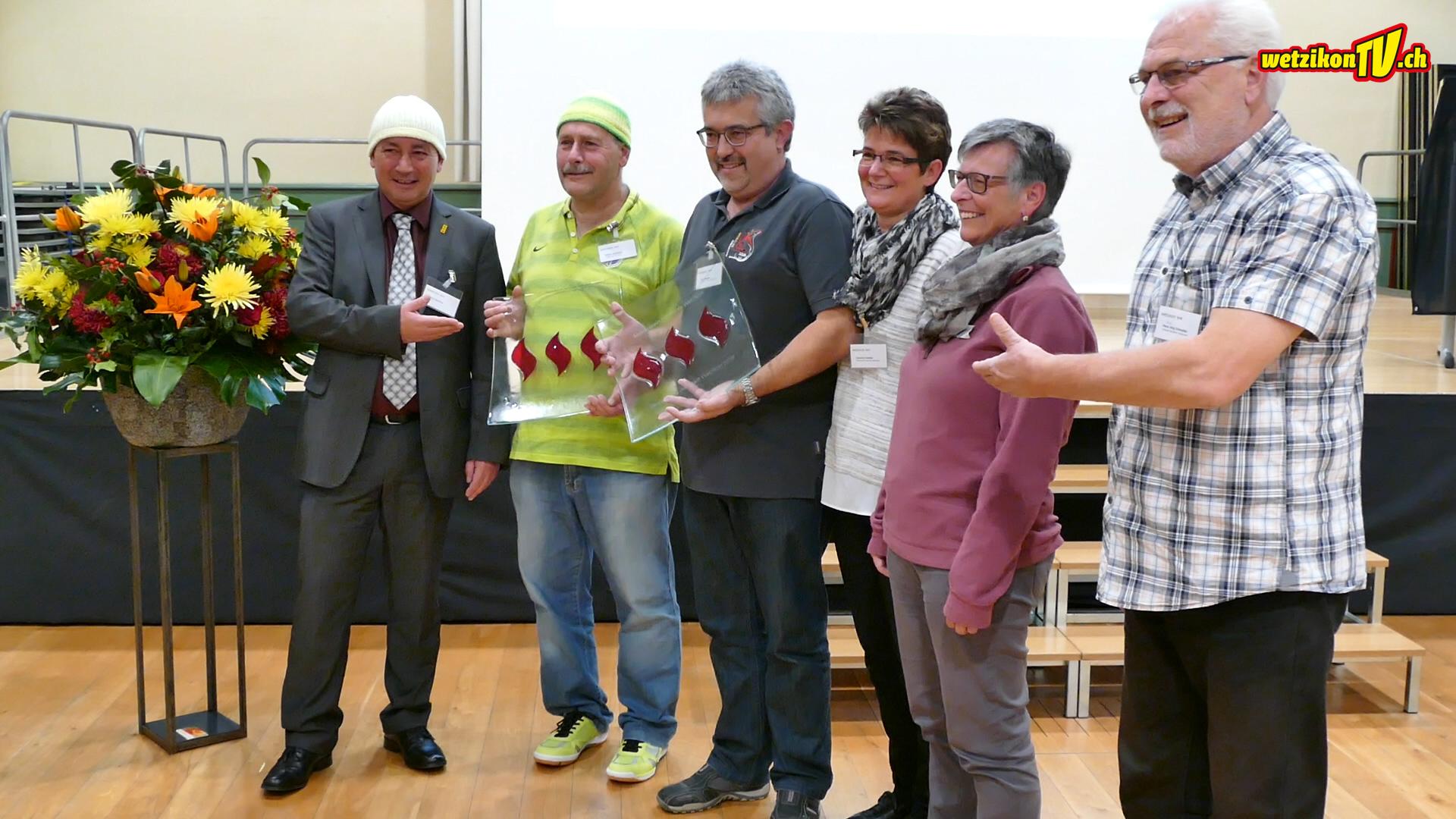 Verleihung Wetziker Flamme