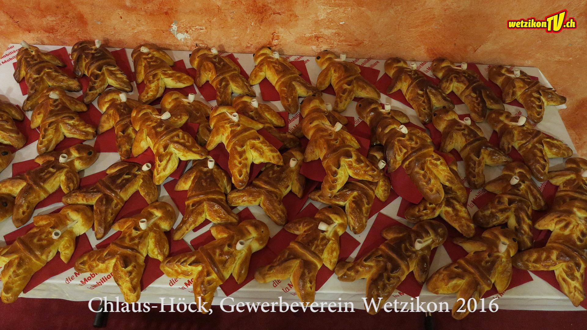 Chlaus-Höck, Gewerbeverein Wetzikon 2016
