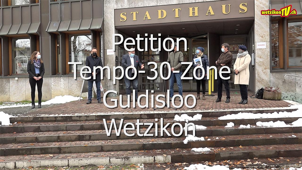 Petition Tempo-30-Zone Guldisloo