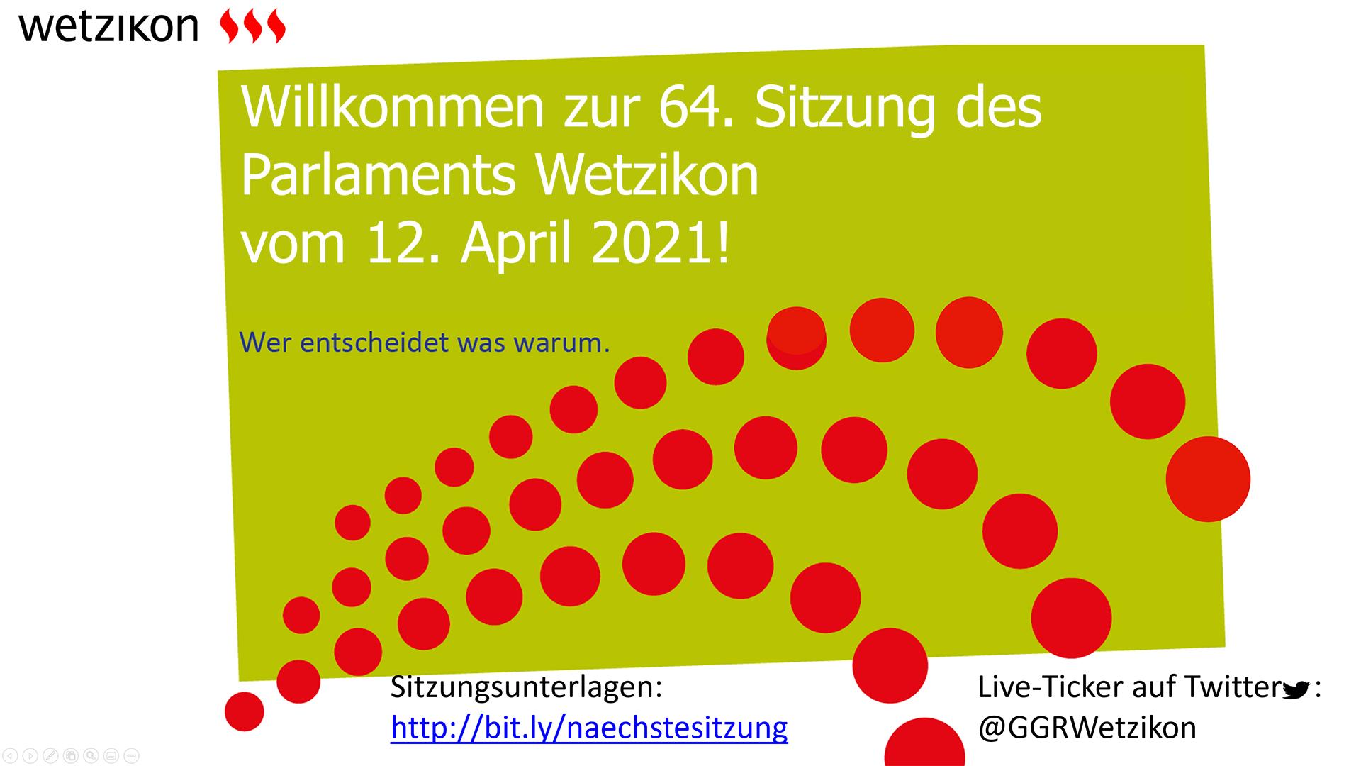 64. Parlamentssitzung