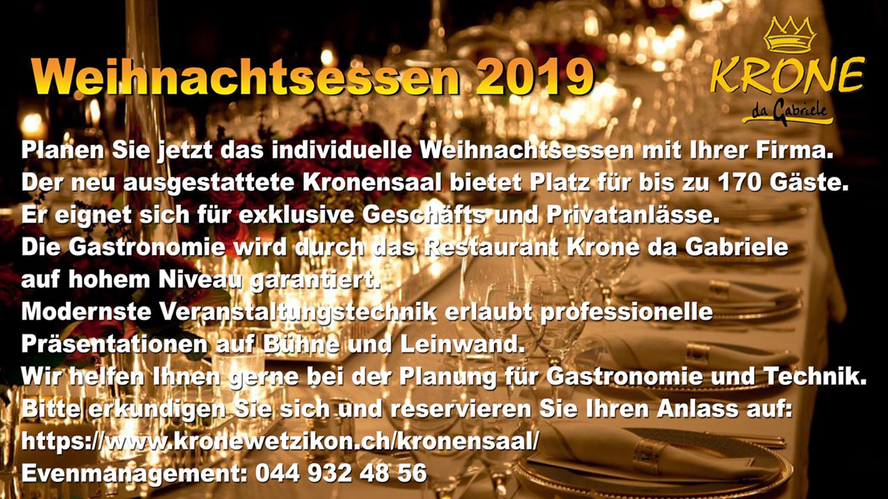 """<a href=""""https://www.kronewetzikon.ch/kronensaal"""" target=""""_blank"""">Reservation Weihnachtsessen</a>"""